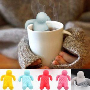 Filtru pentru ceai in forma de omulet