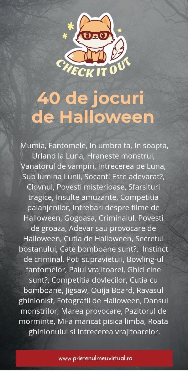 Jocuri de Halloween